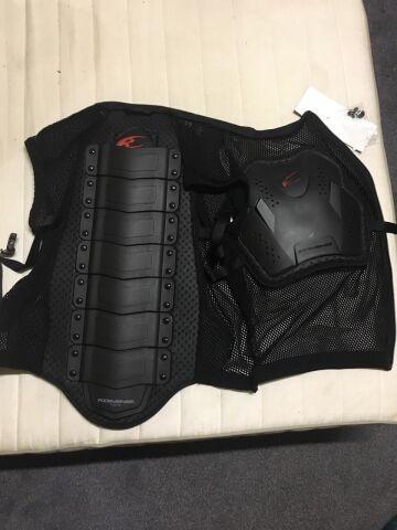 жилет защитный Komine SK-623, чёрный, XL