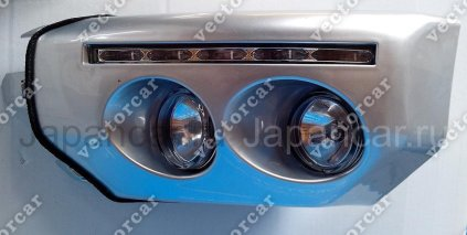 Клык бампера на Toyota Fj Cruiser во Владивостоке