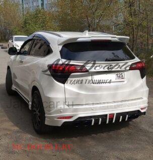 Накладки на задний бампер на Honda во Владивостоке