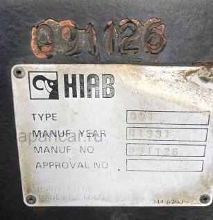 Крановая установка HIAB 091 2005 года во Владивостоке