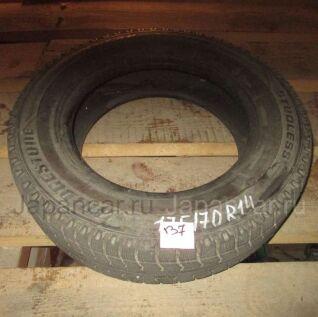 Зимние шины Bridgestone 175/70 14 дюймов б/у в Новосибирске