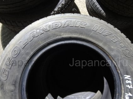 Всесезонные шины Yokohama Geolender h/t-s 215/70 1598 дюймов б/у в Артеме