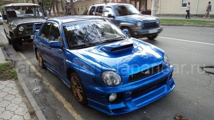 Воздухозаборник на Subaru Impreza WRX STI в Новосибирске