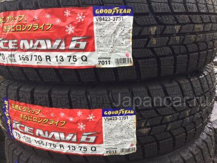 Зимние шины Япония Goodyear ice navi 6 165/70 13 дюймов новые во Владивостоке