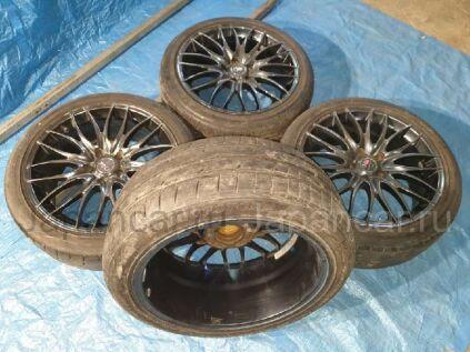 Летниe колеса Bridgestone Ecopia 225/45 18 дюймов Work б/у в Барнауле