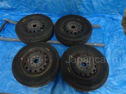 Летниe колеса Dunlop Enasave ec202 185/70 14 дюймов Toyota вылет 5 мм. б/у в Барнауле