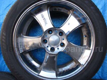 Летниe колеса Bridgestone Dueler h/p 225/55 18 дюймов Japan nismo б/у во Владивостоке