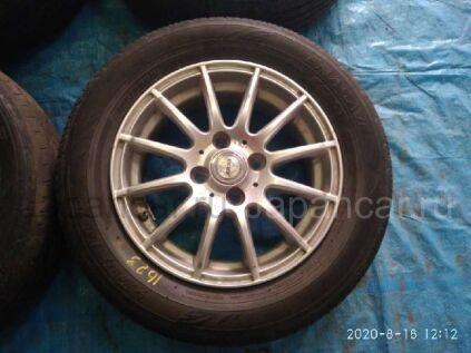 Летниe колеса Dunlop Enasave ec203 185/65 14 дюймов Weds joker вылет 4 мм. б/у в Барнауле