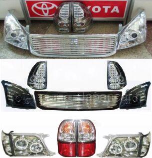 Фара на Toyota Land Cruiser Prado во Владивостоке