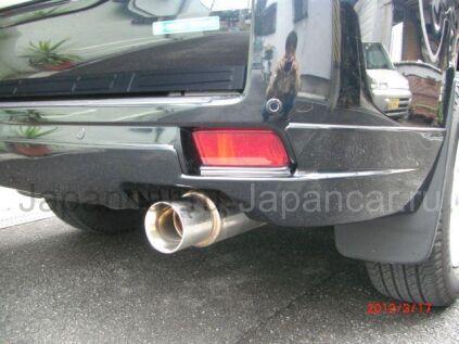 Накладки на задний бампер на Toyota Land Cruiser Prado во Владивостоке