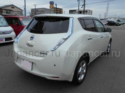 Nissan Leaf 2012 года во Владивостоке