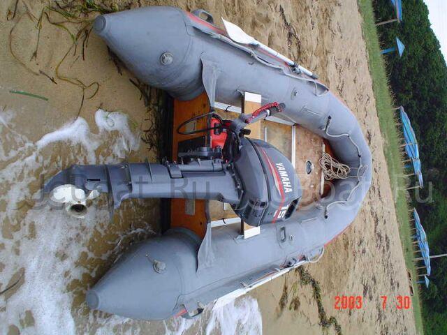 лодка пластиковая ACHILLES лодка с мотором 2002 года