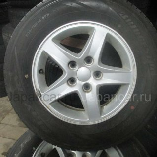 Летниe колеса Bridgestone Zr-v 205/70 15 дюймов б/у в Новосибирске