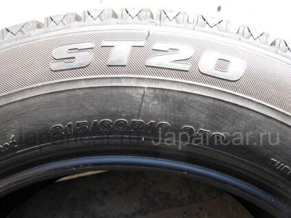 Зимние шины Bridgestone St-20 215/60 16 дюймов б/у во Владивостоке