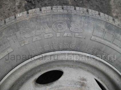 Зимние колеса Hankook Ra08 155/50 12 дюймов б/у во Владивостоке