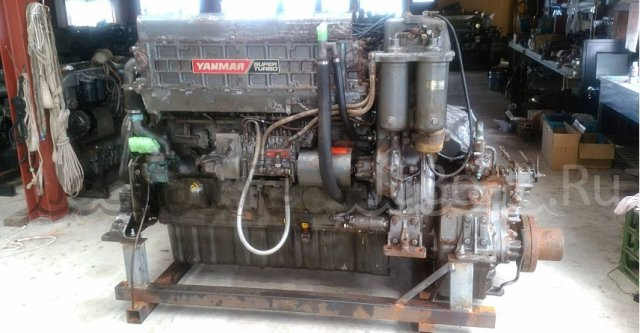 мотор стационарный YANMAR 6LA-ST 2000 года