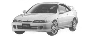 Honda Integra 3DOOR COUPE TYPE R 1998 г.