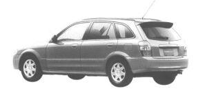 Mazda Familia S-WAGON R 1998 г.