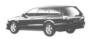 Mitsubishi Legnum VR-4 TYPE-V 1998 г.