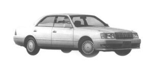 Toyota Crown 4DOOR HARD TOP 3.0 ROYAL SALOON 1998 г.