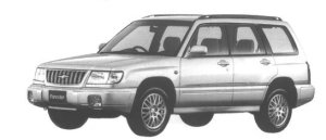 SUBARU FORESTER 1998 г.