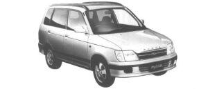 Daihatsu Pyzar CX 1998 г.