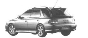Subaru Impreza SPORT WAGON WRX STi Ver.V 1998 г.