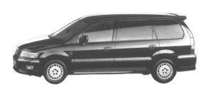 Mitsubishi Chariot GRANDIS EXCEED 1998 г.