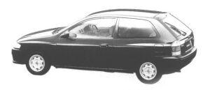 Mazda Familia HATCHBACK TYPE C 1998 г.