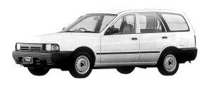 Subaru Leone VAN 2000 DIESEL 1998 г.
