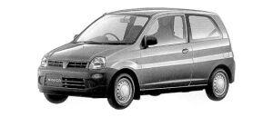 Mitsubishi Minica 3DOOR VAN Cf 1998 г.