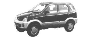 Daihatsu Terios CL 1998 г.