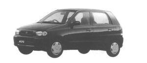 Suzuki Alto LEPO P2 5DOOR 1998 г.