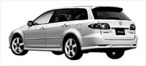 Mazda Atenza SPORT WAGON 23Z 5MT 2003 г.