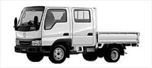 Mazda Titan DASH 2WD Wide&Low W-Cab 2.0Gasoline DX 2003 г.