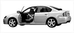 Subaru Legacy B4 Trans Care Wing Seat 2003 г.