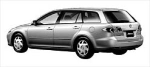 Mazda Atenza SPORT WAGON 23C 2003 г.