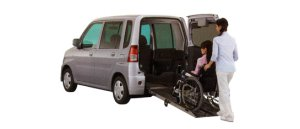 Mitsubishi Toppo Wheelchair Specification Kneel-down Type 2008 г.