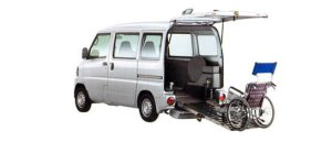 Mitsubishi Minicab Wheelchair Specification Kneel-down Type 2007 г.