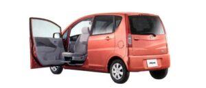 Daihatsu Move Passenger's Swivel Slide Seat 2WD 2007 г.