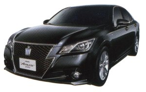 TOYOTA CROWN 2014 г.