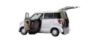 Honda Zest G FF Lift-up Passenger Seat Version 2009 г.