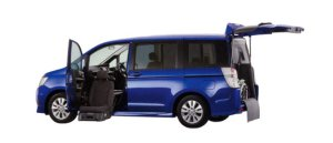 Honda Step Wagon SPADA S FF Lift-up Passenger Seat Version 2009 г.