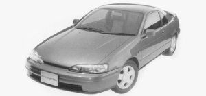 Toyota Cynos B 1993 г.
