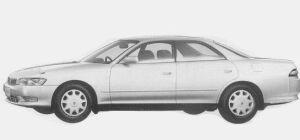 Toyota Mark II 2.5 GRANDE 1993 г.