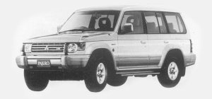 Mitsubishi Pajero MID ROOF Super EXCEED-Z 1993 г.