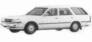 Nissan Cedric WAGON VG20E SGL 1993 г.