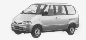 Nissan Vanette SERENA CARGO 4 DOORS 1600 VX 1993 г.
