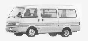 Mazda Bongo BRAWNY VAN 2/5 SEATERS 3000 DIESEL GL 1993 г.