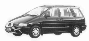 Nissan Prairie 240 G7 ATTESA 1993 г.